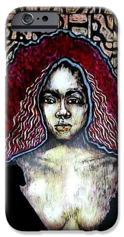IPhone 6s Case featuring the mixed media The Octoroon Ball by Chester Elmore
