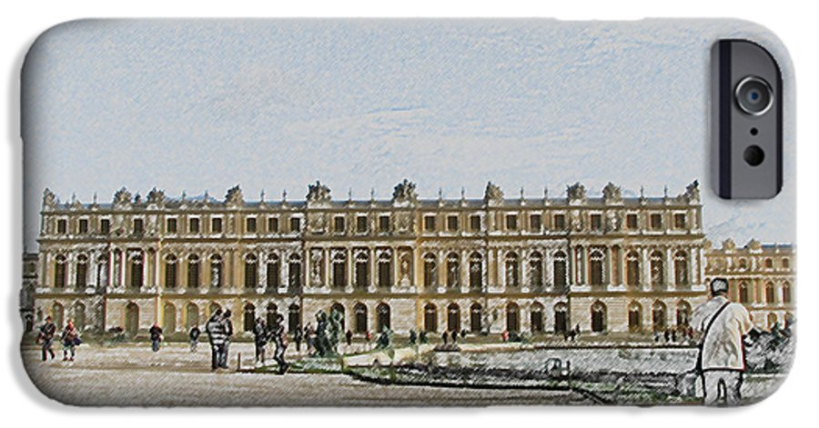 Palace IPhone 6s Case featuring the photograph The Palace Of Versailles by Amanda Barcon