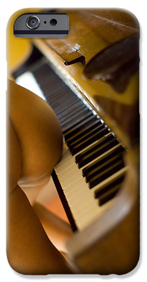 Sensual IPhone 6s Case featuring the photograph The Piano by Olivier De Rycke