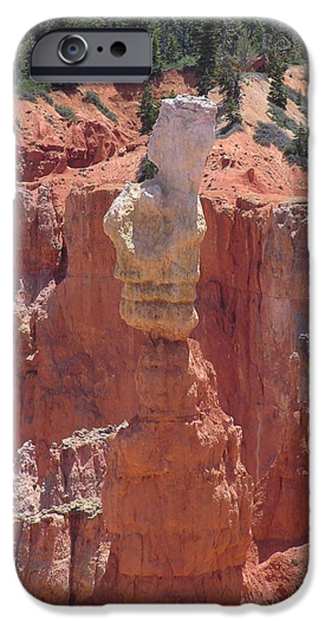 Bryce IPhone 6s Case featuring the photograph Thor's Hammer by Louise Magno