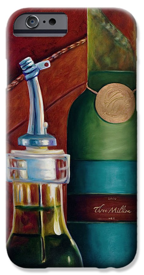 Olive Oil IPhone 6s Case featuring the painting Three Million Net by Shannon Grissom