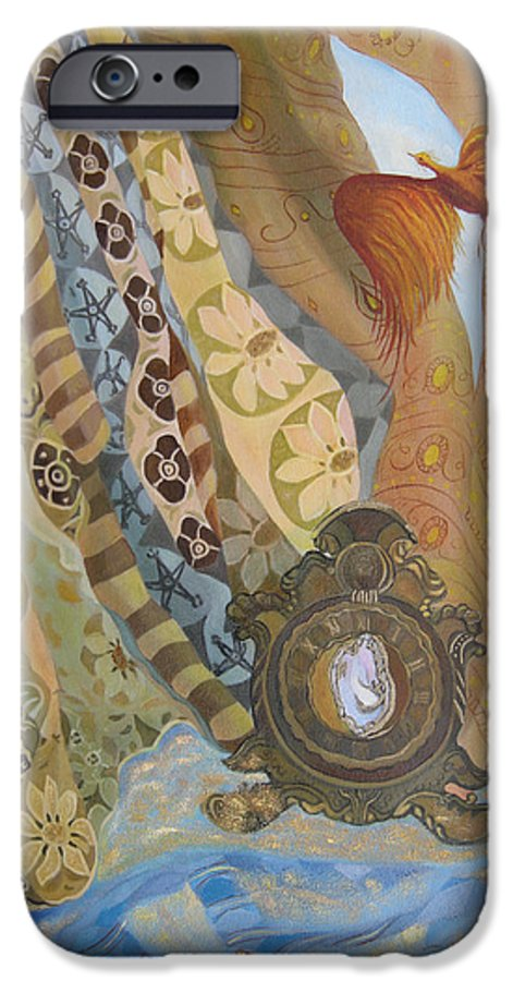 Still Life IPhone 6s Case featuring the painting Time by Antoaneta Melnikova- Hillman