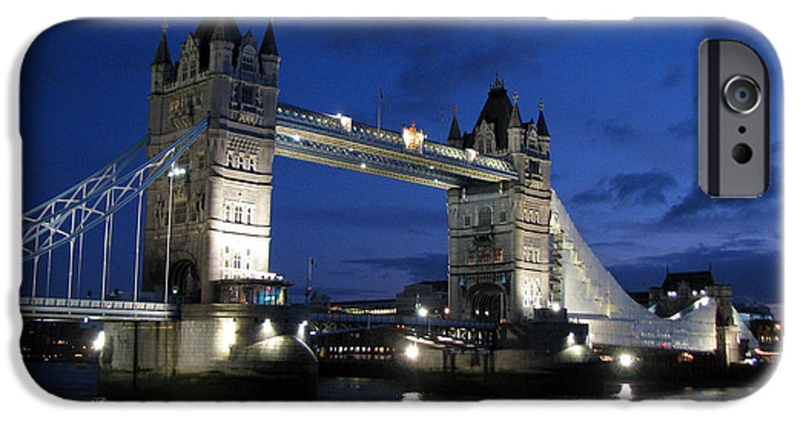 London IPhone 6s Case featuring the photograph Tower Bridge by Amanda Barcon