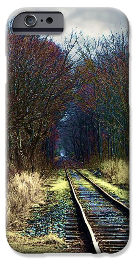 Train IPhone 6s Case featuring the photograph Tracks by Jeffrey Todd Moore