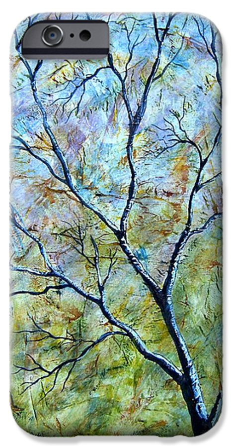 IPhone 6s Case featuring the painting Tree Number Two by Tami Booher