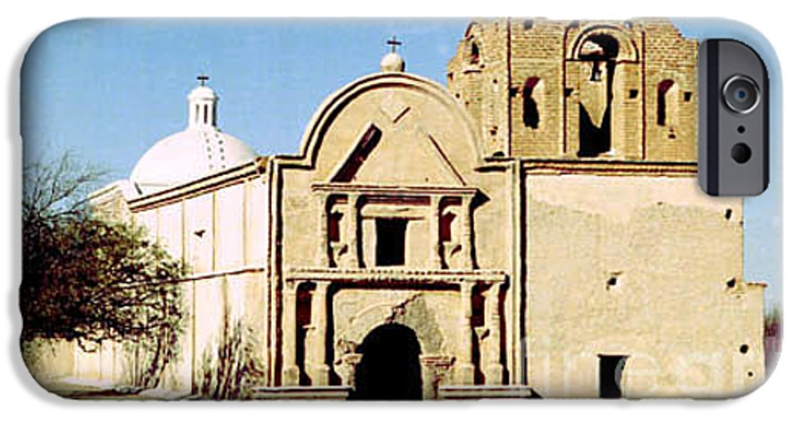 Mission IPhone 6s Case featuring the photograph Tumacacori by Kathy McClure