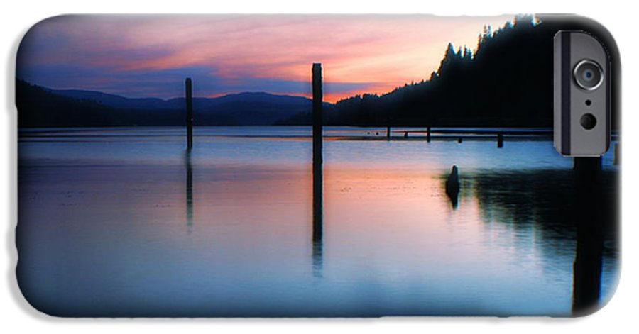 Dusk IPhone 6s Case featuring the photograph Twilight by Idaho Scenic Images Linda Lantzy