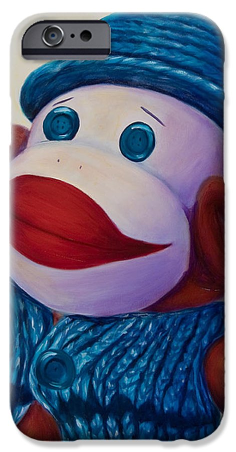 Children IPhone 6s Case featuring the painting Uncle Frank by Shannon Grissom