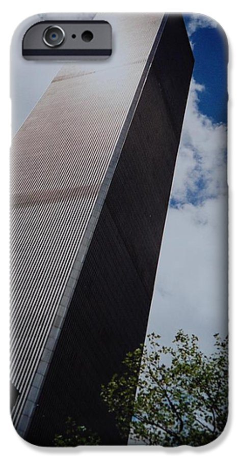 Wtc IPhone 6s Case featuring the photograph W T C 1 And 2 by Rob Hans