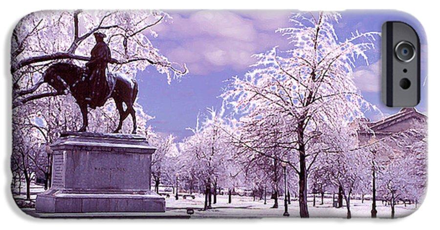 Landscape IPhone 6s Case featuring the photograph Washington Square Park by Steve Karol