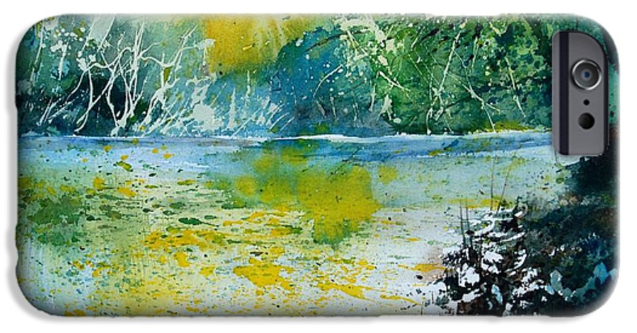 Pond IPhone 6s Case featuring the painting Watercolor 051108 by Pol Ledent