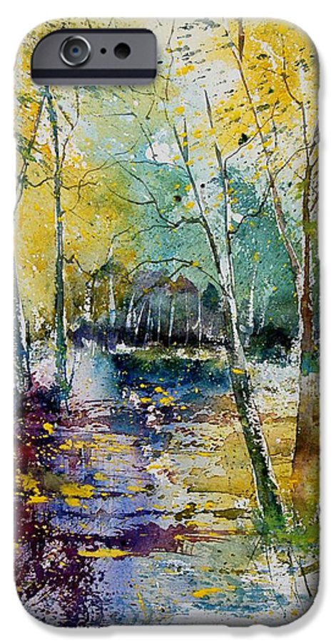 Pond IPhone 6s Case featuring the painting Watercolor 280809 by Pol Ledent