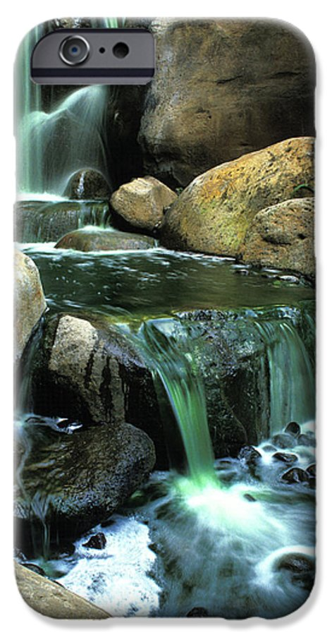 Water IPhone 6s Case featuring the photograph Waterfall On Maui by Carl Purcell