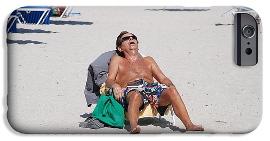 Beach IPhone 6s Case featuring the photograph Weekend At Bernies by Rob Hans