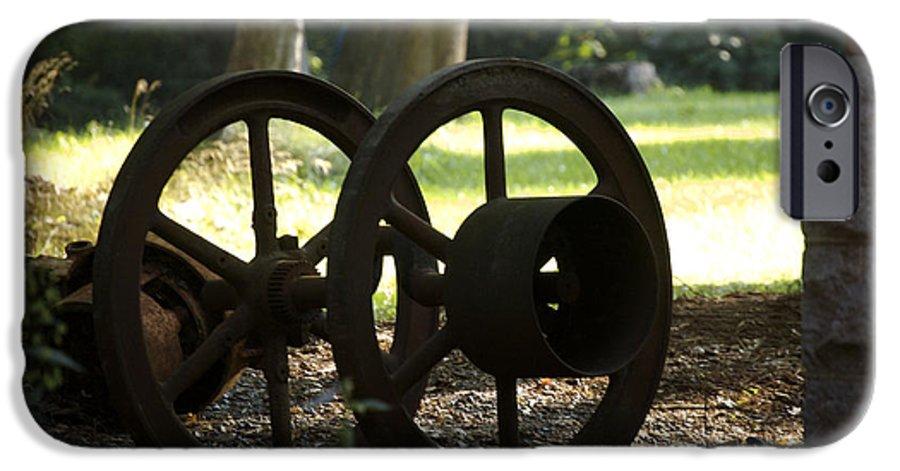 Wheel IPhone 6s Case featuring the photograph Wheels Of War-spanish American War Artifacts by Faith Harron Boudreau