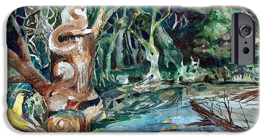 Squirrels IPhone 6s Case featuring the painting Woodland Critters by Mindy Newman