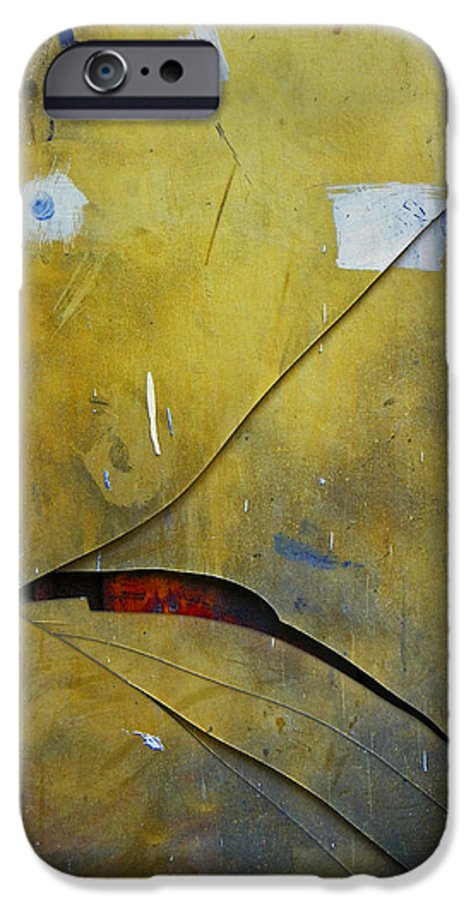 Abstract IPhone 6s Case featuring the photograph Xalapa Miro by Skip Hunt