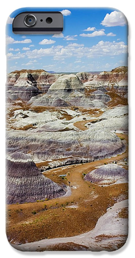 Painted Desert IPhone 6s Case featuring the photograph Yea Though I Walk by Skip Hunt