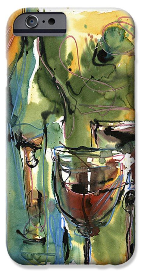 Wine IPhone 6s Case featuring the painting Zin-findel by Robert Joyner