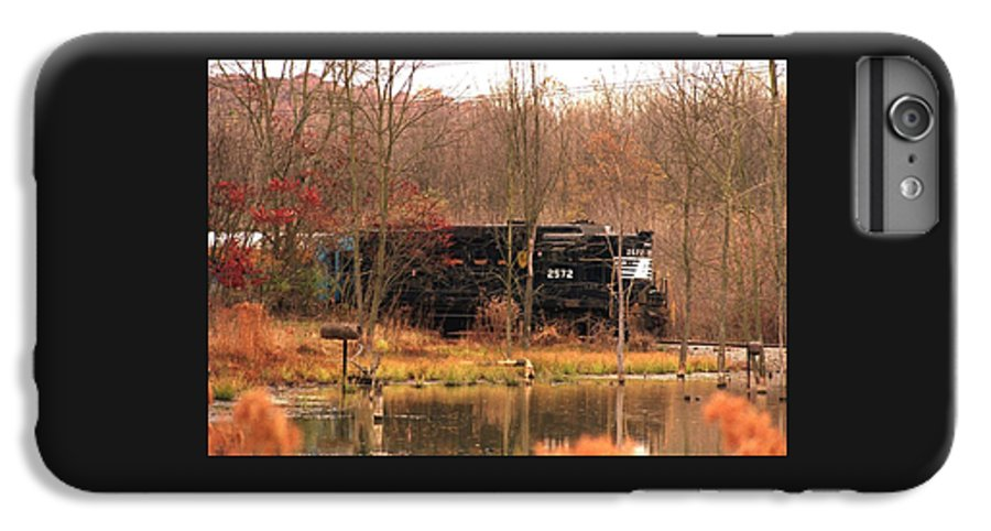 Train IPhone 6s Plus Case featuring the photograph 080706-57 by Mike Davis