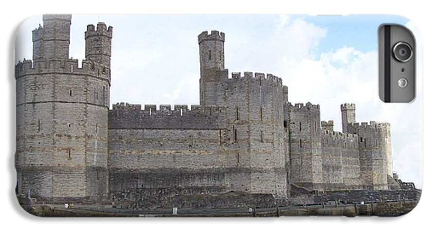 Castles IPhone 6s Plus Case featuring the photograph Caernarfon Castle by Christopher Rowlands