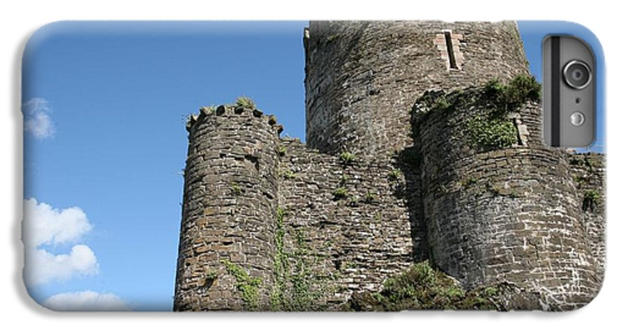 Castles IPhone 6s Plus Case featuring the photograph Conwy Castle by Christopher Rowlands