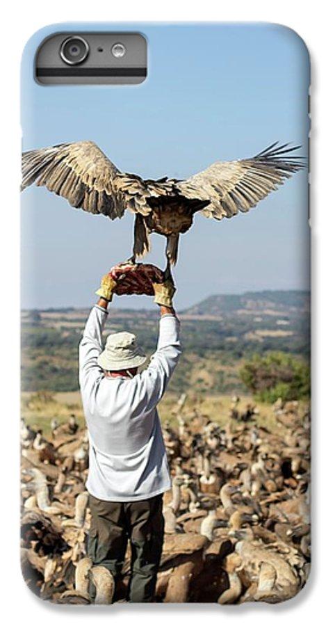 Griffon Vulture IPhone 6s Plus Case featuring the photograph Griffon Vulture Conservation by Nicolas Reusens