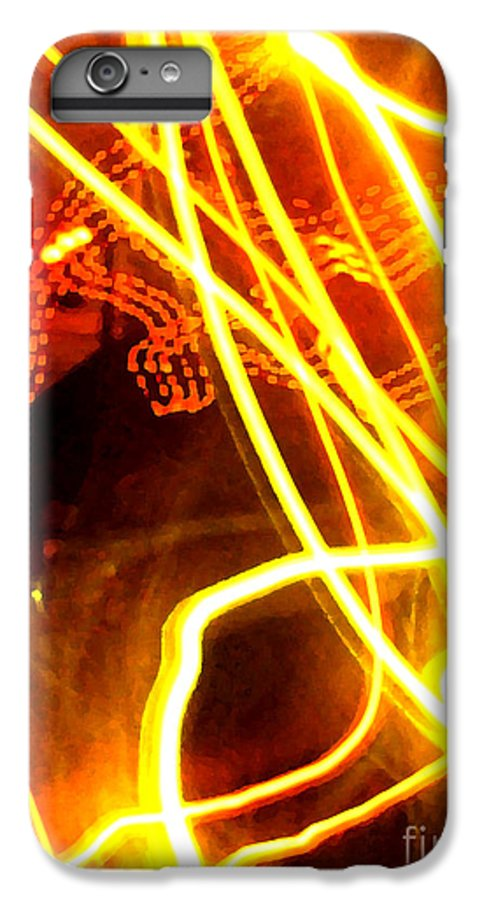 Abstract IPhone 6s Plus Case featuring the photograph Abstract by Amanda Barcon