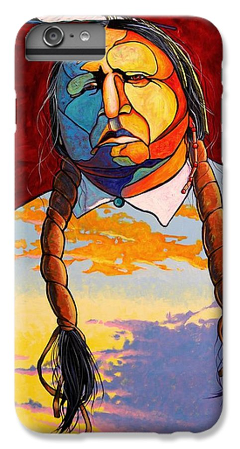 Spiritual IPhone 6s Plus Case featuring the painting All That I Am by Joe Triano