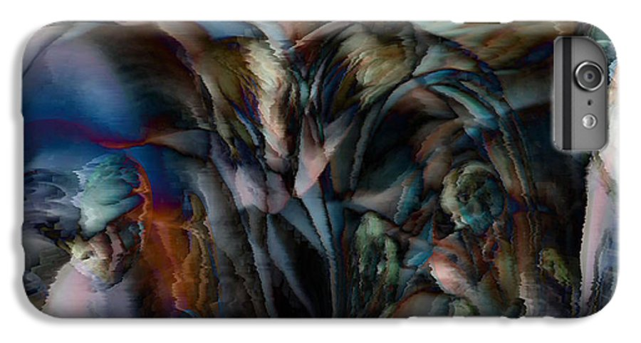 Another World Art IPhone 6s Plus Case featuring the digital art Another World by Linda Sannuti