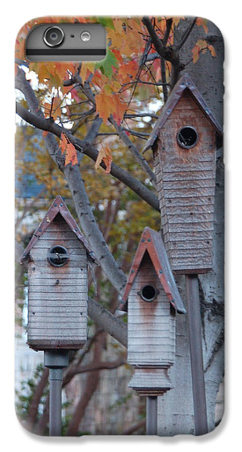 Birdhouse IPhone 6s Plus Case featuring the photograph Awaiting Spring by Suzanne Gaff