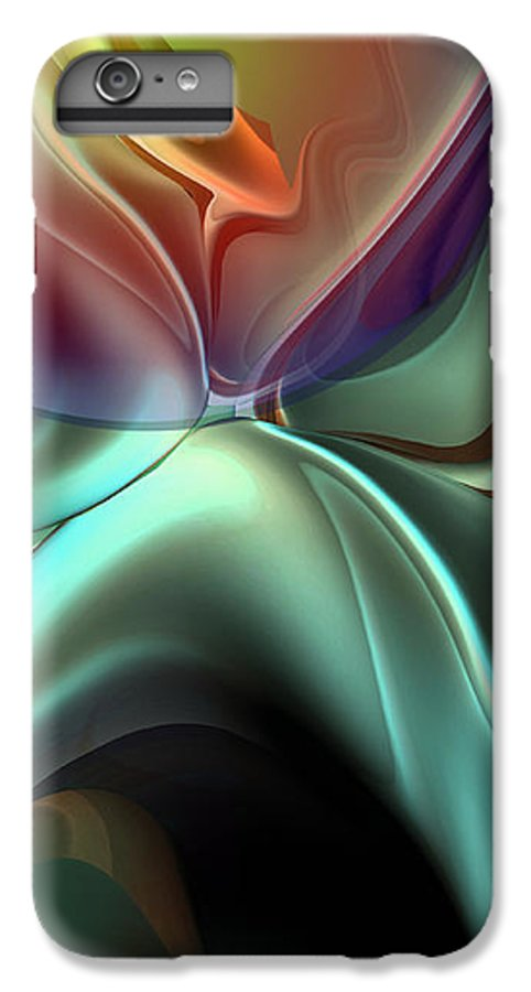 Reminiscence IPhone 6s Plus Case featuring the painting Baroque Music Reminiscence by Christian Simonian