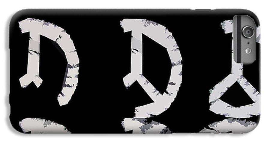 Peace IPhone 6s Plus Case featuring the digital art Build Up Peace by Michelle Calkins