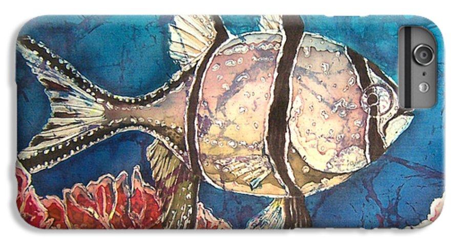 Cardinalfish IPhone 6s Plus Case featuring the painting Cardinalfish by Sue Duda
