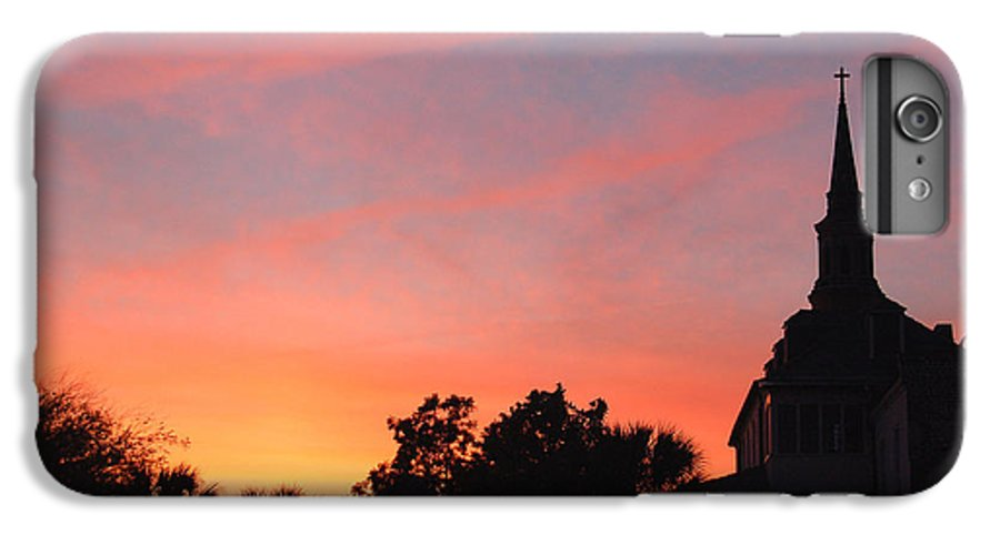 Charleston IPhone 6s Plus Case featuring the photograph Charleston At Dusk by Suzanne Gaff