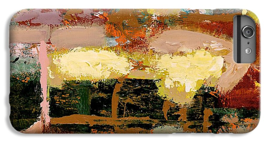 Landscape IPhone 6s Plus Case featuring the painting Chopped Liver by Allan P Friedlander
