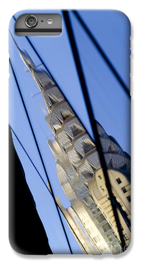 Chrysler IPhone 6s Plus Case featuring the photograph Chrysler Building by Tony Cordoza