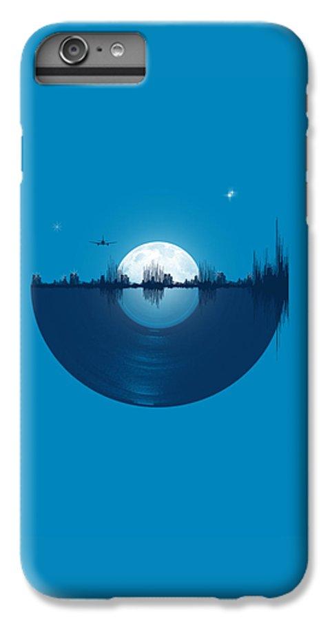 City IPhone 6s Plus Case featuring the digital art City Tunes by Neelanjana Bandyopadhyay