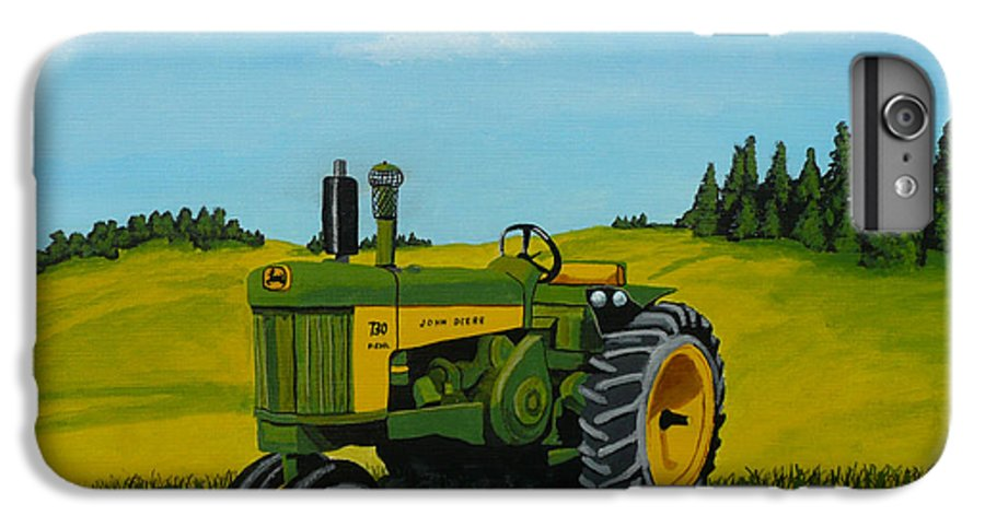 John Deere IPhone 6s Plus Case featuring the painting Dear John by Anthony Dunphy