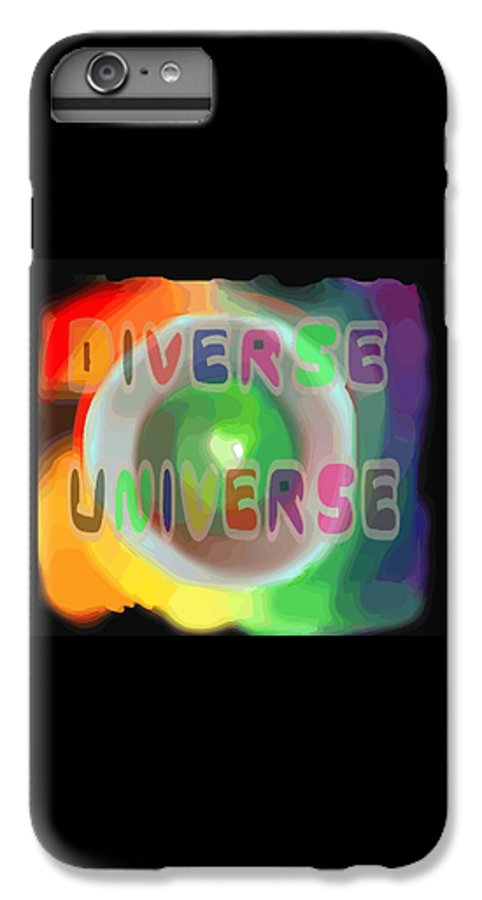 Diverse IPhone 6s Plus Case featuring the painting Diverse Universe by Pharris Art