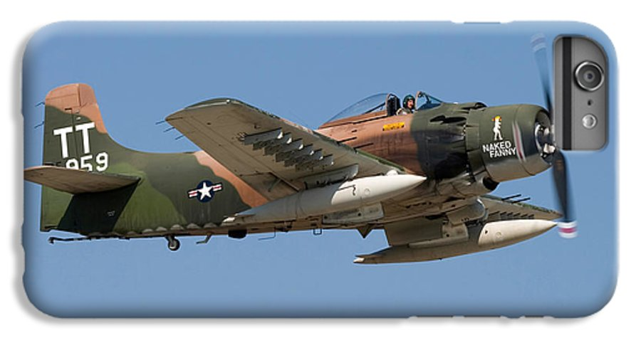3scape Photos IPhone 6s Plus Case featuring the photograph Douglas Ad-4 Skyraider by Adam Romanowicz