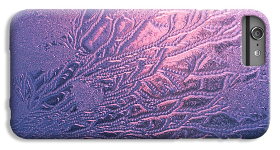 Frost IPhone 6s Plus Case featuring the photograph Jack Frost Window At Dawn by Anna Lisa Yoder