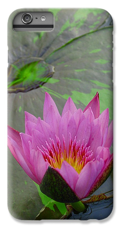 Lotus IPhone 6s Plus Case featuring the photograph Lotus Blossom by Suzanne Gaff
