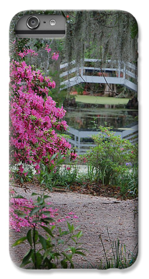 Garden IPhone 6s Plus Case featuring the photograph Lowcountry Series II - Ode To Monet by Suzanne Gaff