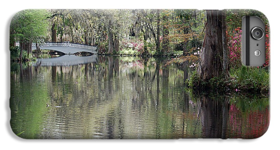 Magnolia Plantation Garden IPhone 6s Plus Case featuring the photograph Magnolia Plantation Gardens Series II by Suzanne Gaff