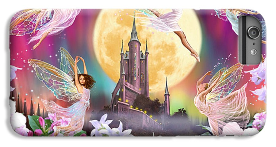 Fairy IPhone 6s Plus Case featuring the photograph Moon Dance by MGL Meiklejohn Graphics Licensing