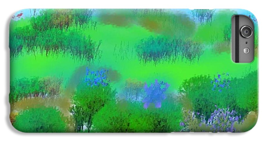 Morning IPhone 6s Plus Case featuring the digital art My Morning Window View by Dr Loifer Vladimir