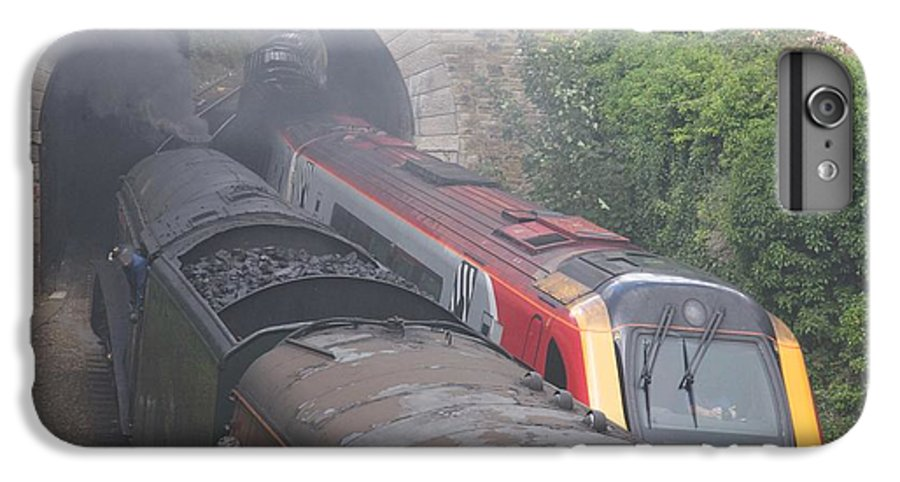 Trains IPhone 6s Plus Case featuring the photograph Old Meets New. by Christopher Rowlands