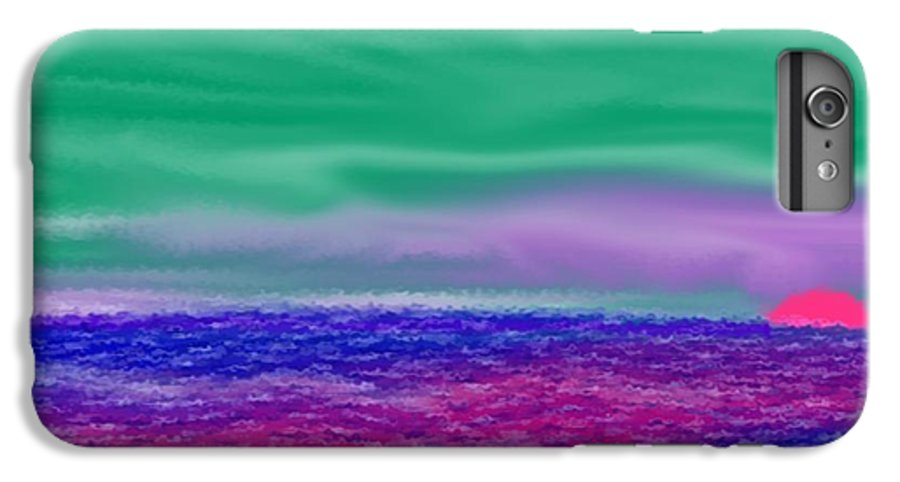 Morning IPhone 6s Plus Case featuring the digital art One Simple Morning by Dr Loifer Vladimir