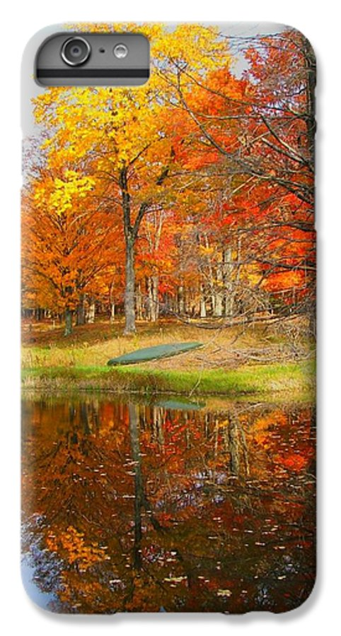 Fall IPhone 6s Plus Case featuring the photograph Reflections Of Autumn by Judy Waller